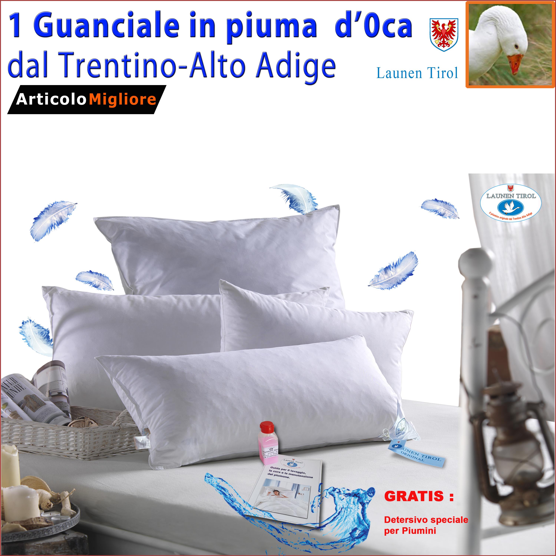 Cuscini Piuma D Anatra.Piuma D Oca Guanciale In Piuma D Oca Launen Tirol Cuscini Letto