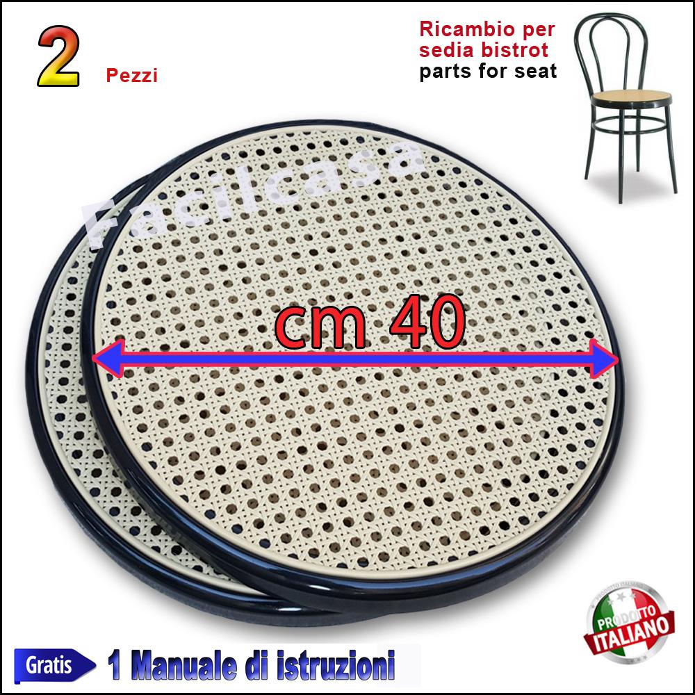 Sedute In Plastica Per Sedie.Sedute Per Sedie Bistrot Thonet Vienna Ricambi Nero 2 Ricambio