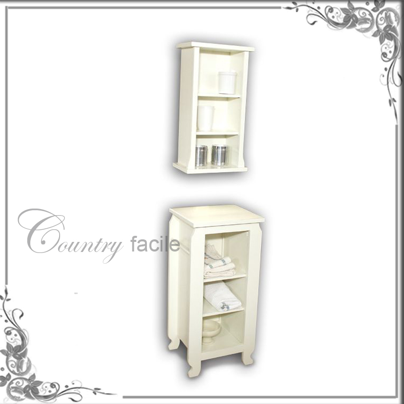 Mobili bagno country bagno base e pensile pony shabby - Bagno country chic ...