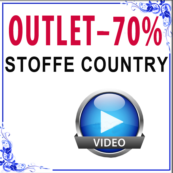 Stoffe rustiche e tirolesi outlet scampoli country for Stoffe arredamento outlet