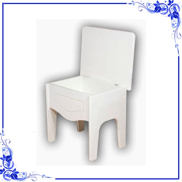 Tavolini stile country sgabello contenitore shabby chic facilcasa - Sgabello contenitore bagno ...