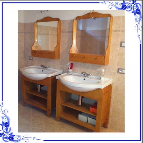 mobili bagno country : bagno cavallino country abete miele - facilcasa - Miele Arredo Bagno