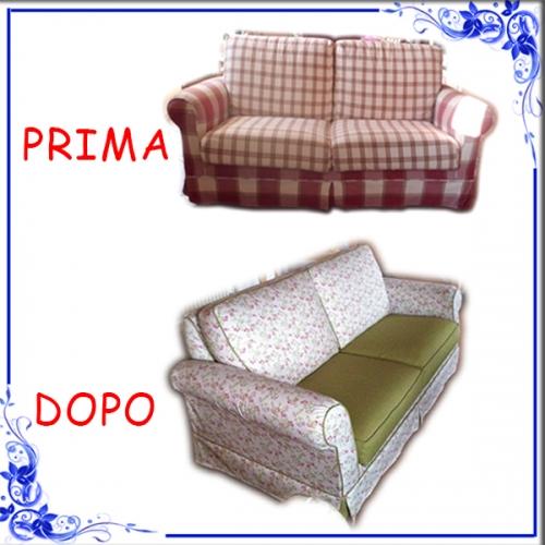 Rifoderare divano il miglior design di ispirazione e gli - Foderare il divano ...