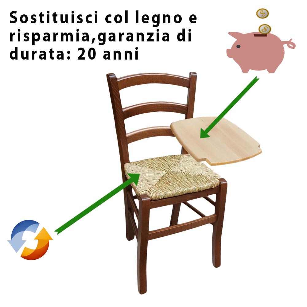 Sedili Di Ricambio Per Sedie.Sedute Per Sedie In Legno Noce 6 Sedile Per Sedia Venezia